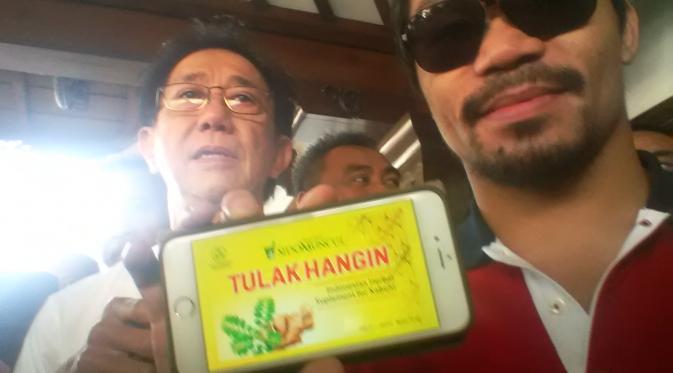 Manny Pacquiao Kunjungi Semarang (Edhie Prayitno Ige/Liputan6.com)