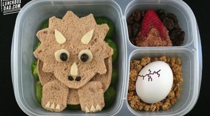 Dinosaur (Via: lunchboxdad.com)