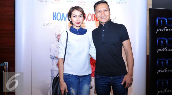 Arie K Untung dan Venita Arie [Foto: Gempur Muhammad Surya/Liputan6.com]