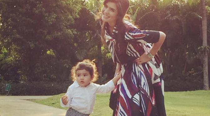 Carissa Putri dan Quenzino Acana Naif. (via instagram/@carissa_puteri)